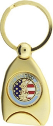 US Army National Guard Service Key Rings